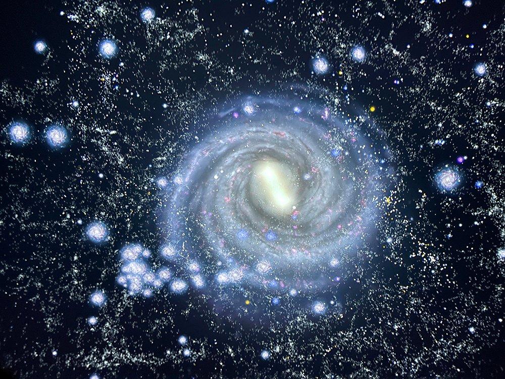 Created Cosmos in the Stargazer Planetarium
