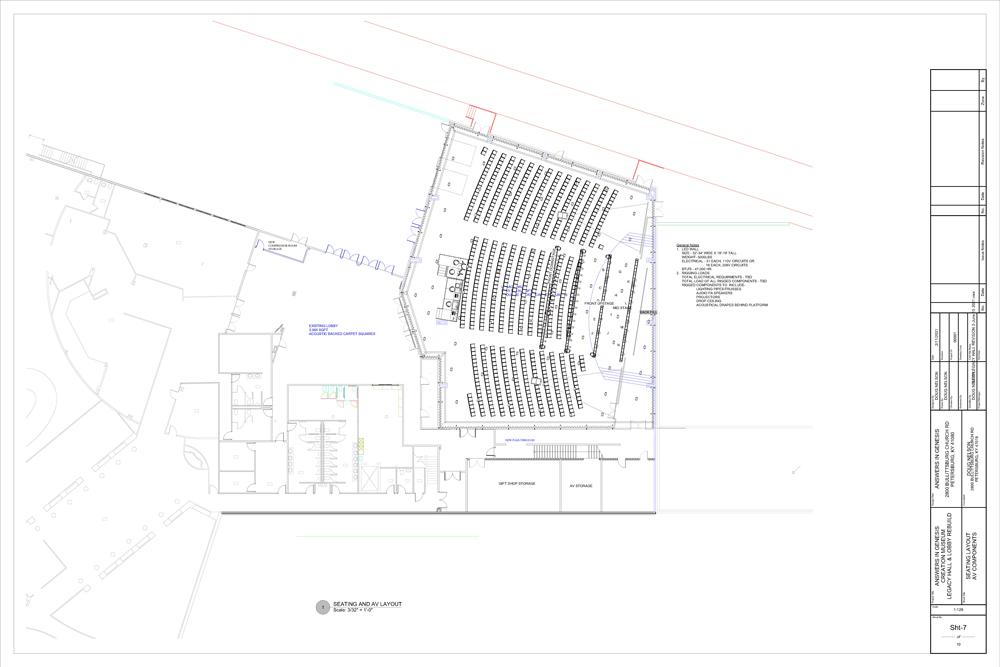 Legacy Hall Plans