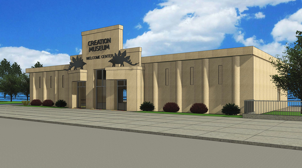 Creation Museum Welcome Center Plan