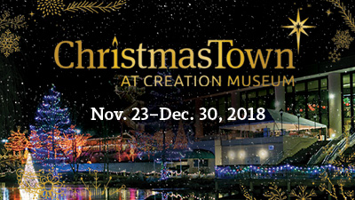 Kick Off the Holiday Season with ChristmasTown at the Creation Museum