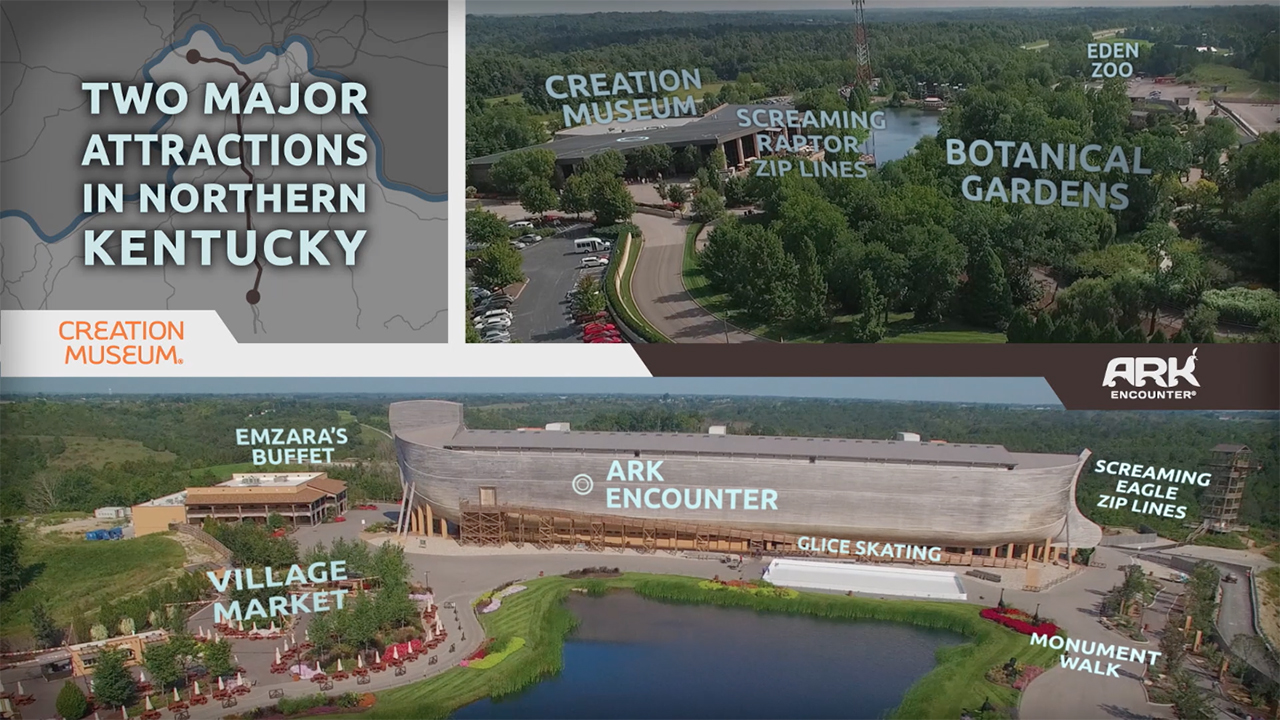 Creation Museum & Ark Encounter Promo Video