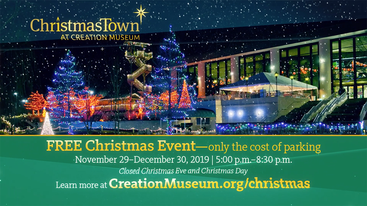 ChristmasTown at the Creation Museum 2019