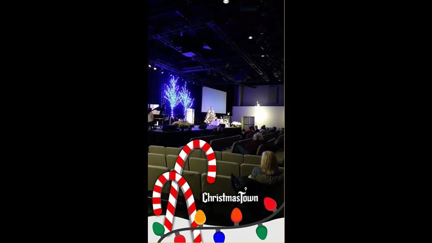 Christmas Town Snapchat Filter: Joetta