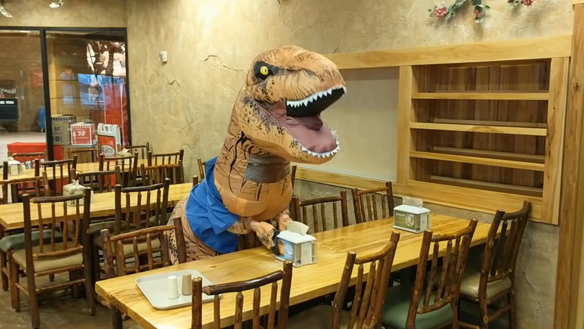 <i>T-rex</i> Looking for Job in Creation Museum