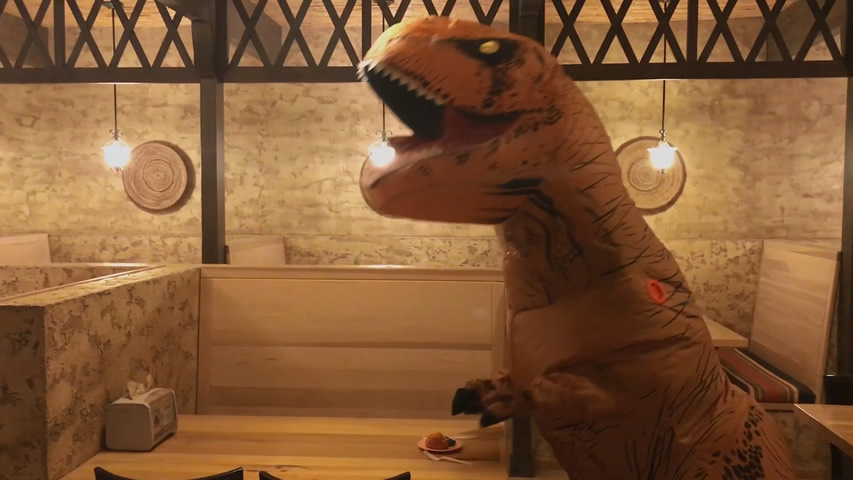 Creation Museum Blog: T-rex Thankful for Food
