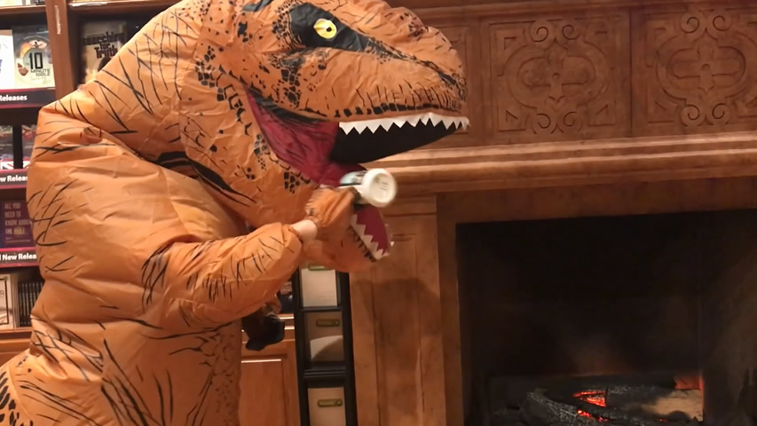 Creation Museum Blog: T-rex Thankful for Warmth