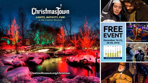 Christmas Town Slide