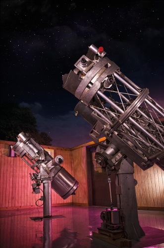 Telescopes in Johnson Observatory